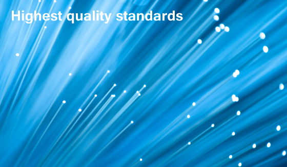 Highest Quality Standards